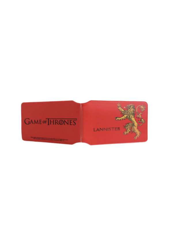 Game of Thrones Lannister Travel Pass Holder Portadocumenti