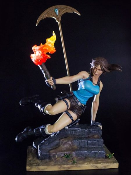 Gaming Heads Tomb Raider Temple of Osiris Lara Croft 1:6 Statue
