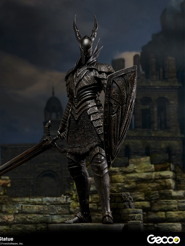 Gecco Dark Souls Black Knight Kurokishi 1:6 Pvc Statue