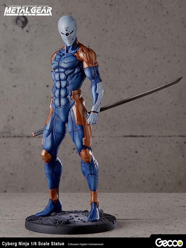 Gecco Metal Gear Solid Cyborg Ninja 1:6 Statue