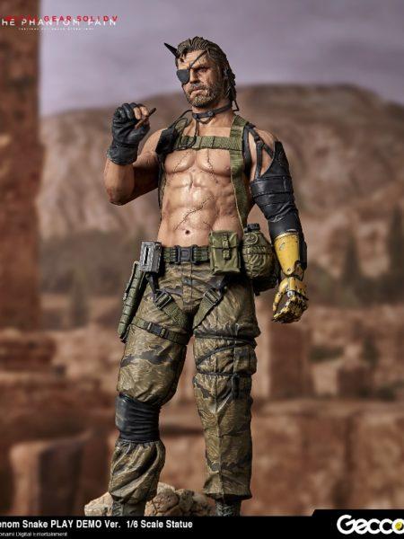 Gecco Metal Gear Solid V The Phantom Pain Venom Snake Play Demo 1:6 Statue