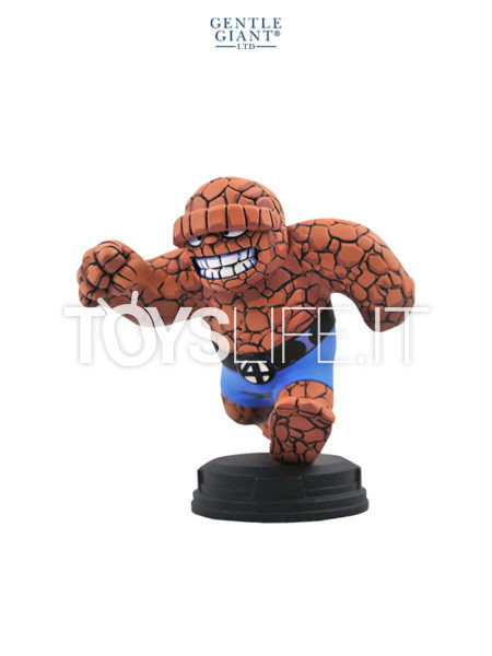 Gentle Giant Marvel Comics Fantastic 4 The Thing Animated Maquette By Skottie Young