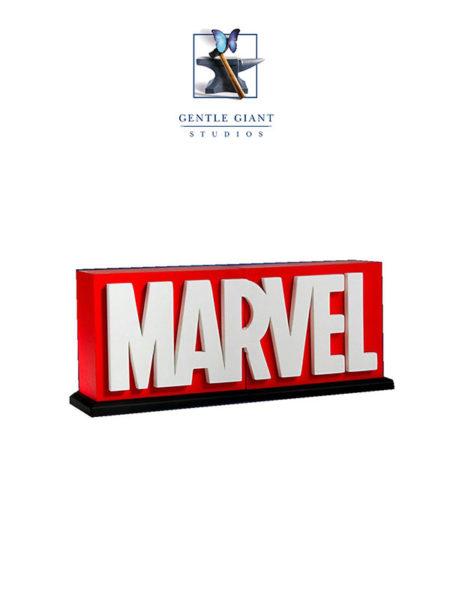 Gentle Giant Marvel Comics Logo Bookends