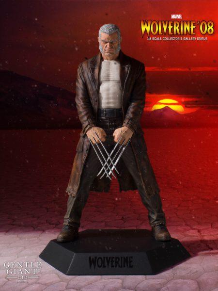 Gentle Giant Marvel Collectors Gallery Wolverine '08 Old Man Logan 1:8 Statue