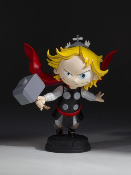 Gentle Giant Marvel Comics Animated Series Thor Mini Statue By Scottie Young