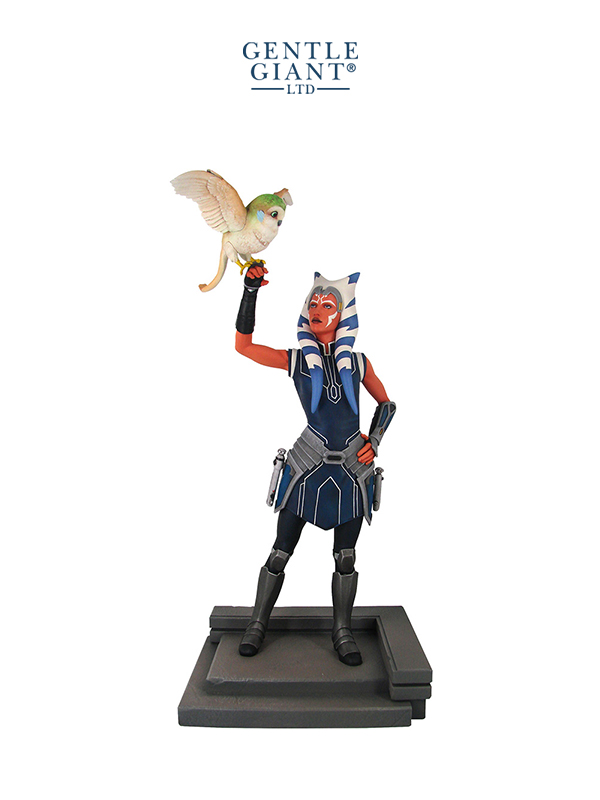 Gentle Giant Star Wars The Clone Wars Ahsoka Tano Premier Collection 1:7 Statue