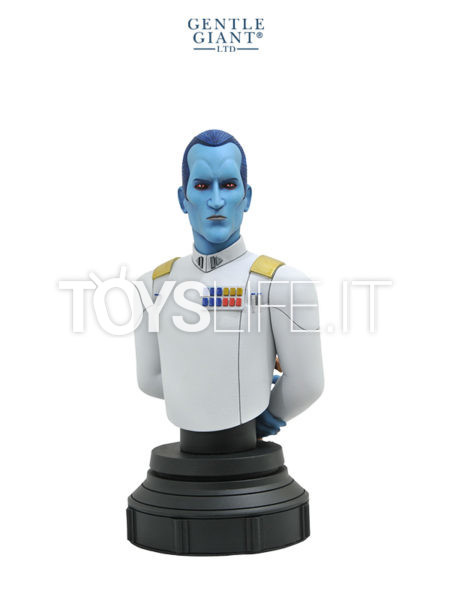 Gentle Giant Star Wars Rebels Grand Admiral Thrawn 1:7 Bust