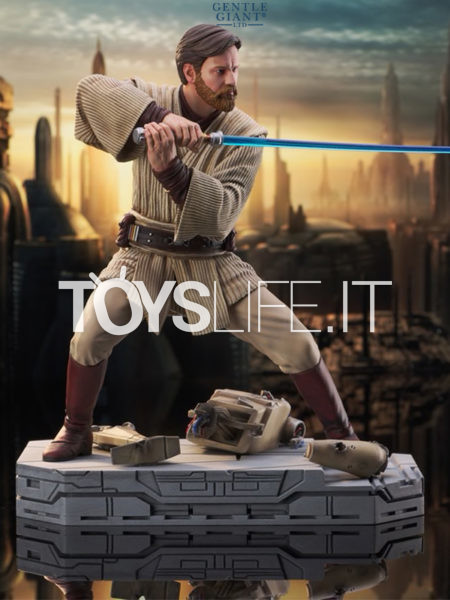 Gentle Giant Star Wars Milestones Revenge Of The Sith Obi-Wan Kenobi 1:6 Statue