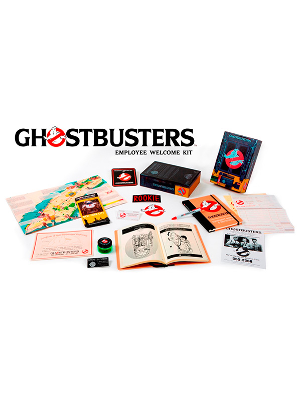 Ghostbusters Empoyee Welcome Kit