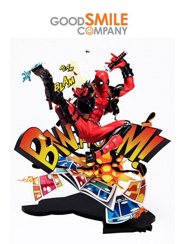 Good Smile Company Deadpool Breaking The Fouth Wall Pvc Statue