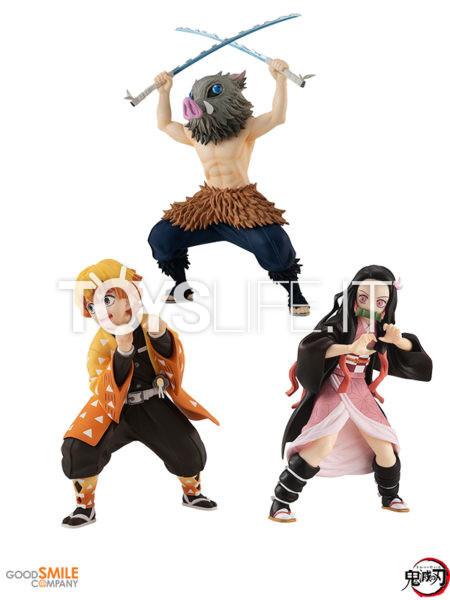 Good Smile Company Demon SlayerKimetsu no YaibaNezuko Kamado/Zenitsu Agatsuma/Inosuke HashibiraPop Up Parade Pvc Statue