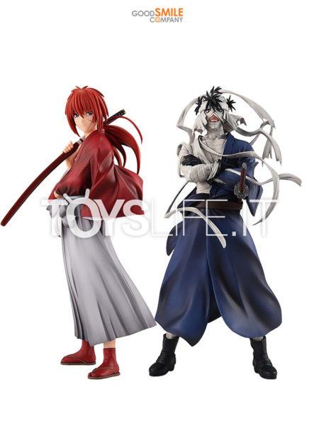 Good Smile Company Rurouni Kenshin Kenshin Himura/ Makoto Shishio Pop Up Parade PVC Statue