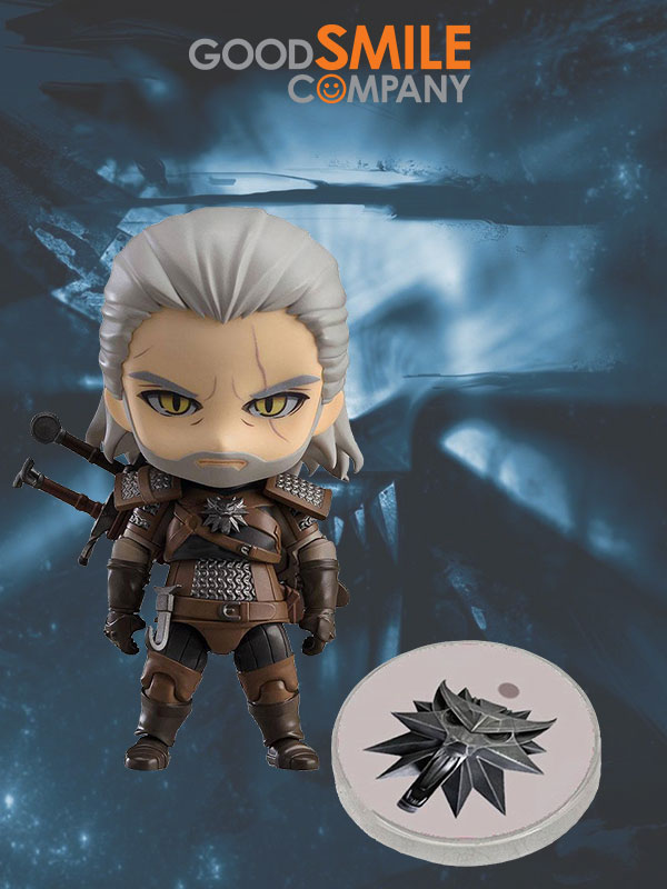 Good Smile Company The Witcher Geralt Of Rivia Nendoroid Exclusive Figure