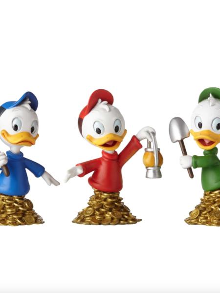 Grand Jester Studios Ducktales Huey Louie & Dewey Bust