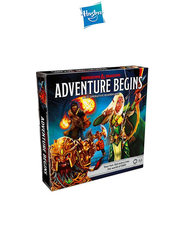 Hasbro Dungeons & Dragons  Adventure Begins Boardgame English