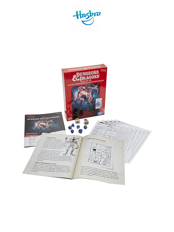 Hasbro Stranger Things Dungeons & Dragons Starter Set Gameboard English Version