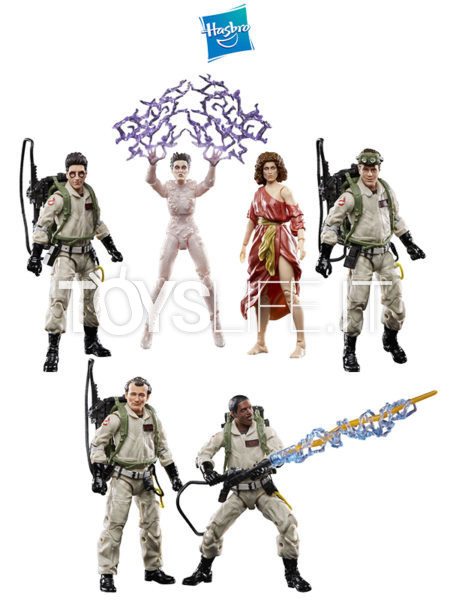 Hasbro Ghostbusters Plasma Series 2020 Venkman/ Spengler/ Stantz/ Zeddemore/ Barrett/ Gozer Figure Wave 1