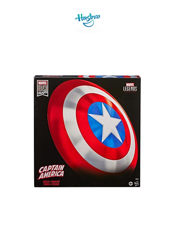 Hasbro Marvel Legends 80th Anniversary Captain America Shield Lifesize Replica 60 CM