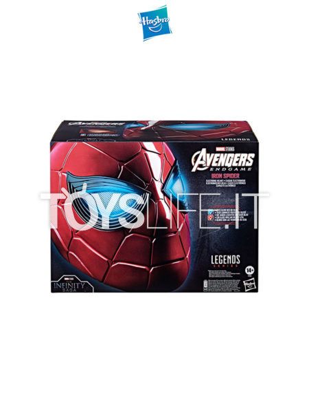 Hasbro Marvel Legends Avengers Endgame Iron Spider Electronic 1:1 Lifesize Helmet