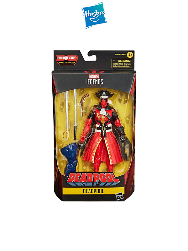 Hasbro Marvel Legends Series Deadpool Pirate Suit Figure