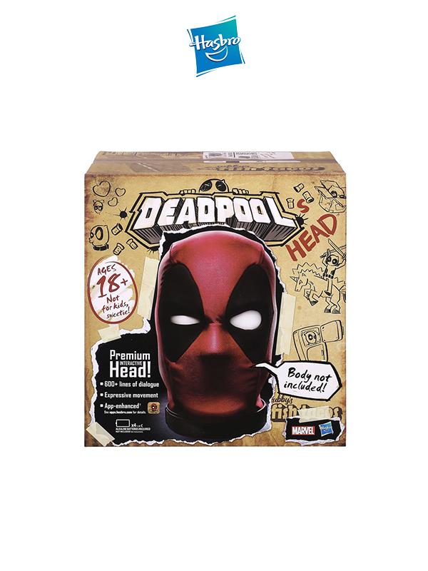 Hasbro Marvel Legends Deadpool's Head Premium Interactive Head
