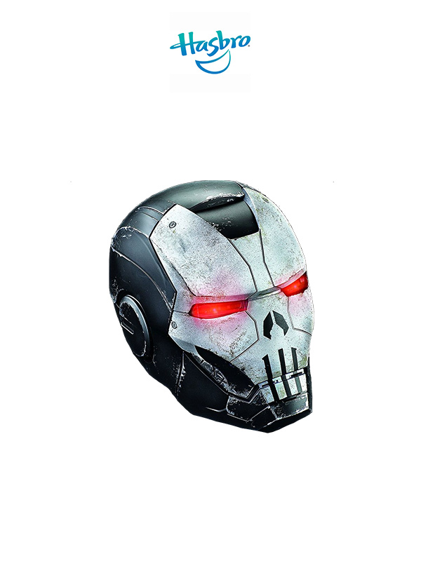 Hasbro Marvel Legends Punisher War Machine 1:1 Electronic Helmet