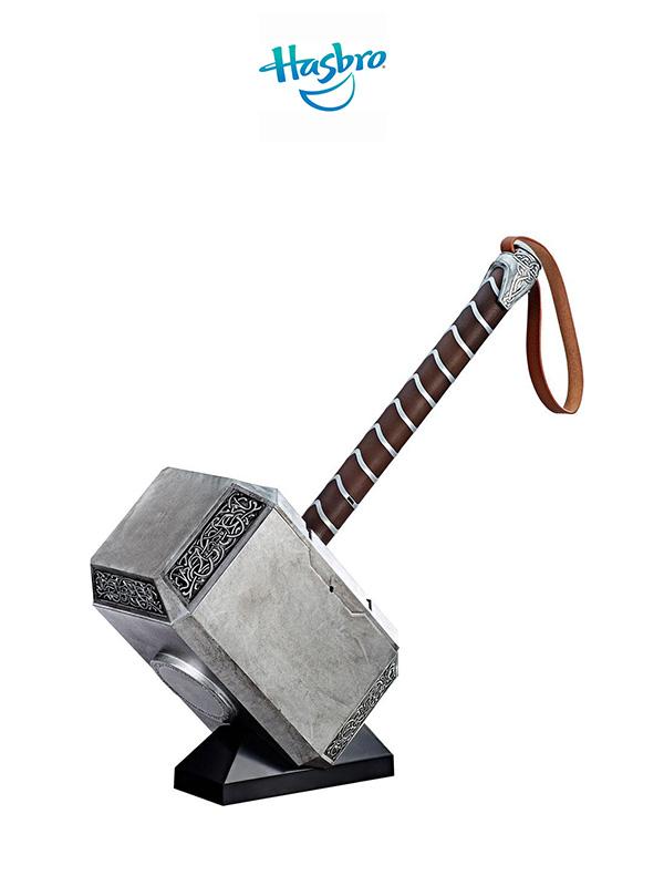 Hasbro Marvel Legends Thor Mjolnir Hammer 1:1 Lifesize Replica