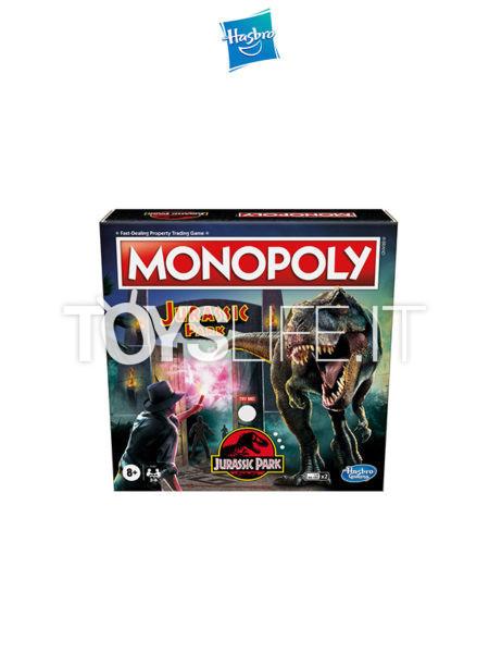 Hasbro Monopoly Jurassic Park English Edition