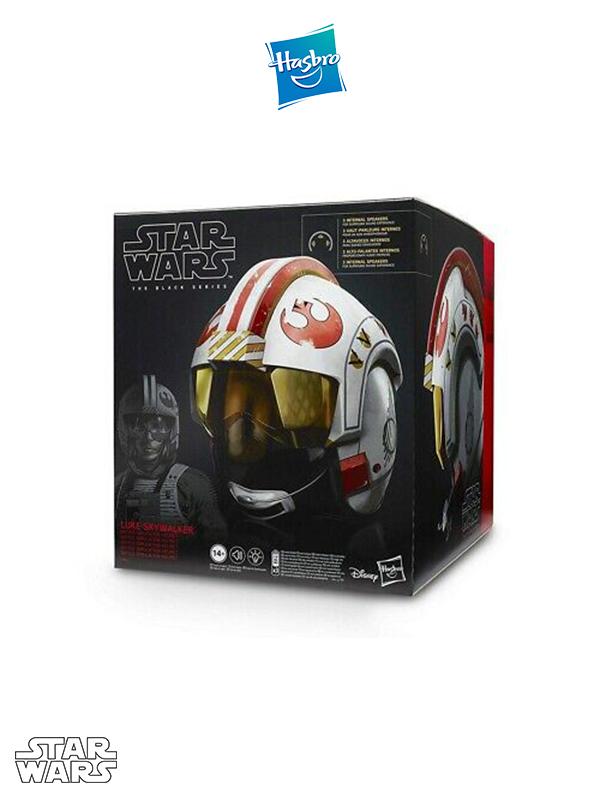 Hasbro Star Wars Black Series Luke Skywalker Pilot 1:1 Electronic Helmet