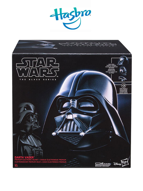 Hasbro Star Wars Darth Vader Electronic Helmet Black Series