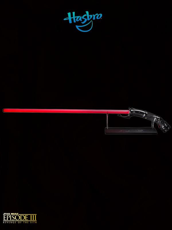 Hasbro Star Wars Episode III Black Series Count Dooku Force FX Lightsaber 1:1 Replica