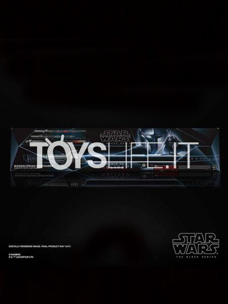 Hasbro Star Wars The Mandalorian Darksaber Mandalorian Lightsaber 1:1 Replica