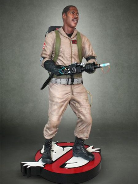 Hollywood Collectibles Ghostbusters Winston Zeddemore 1:4 Statue