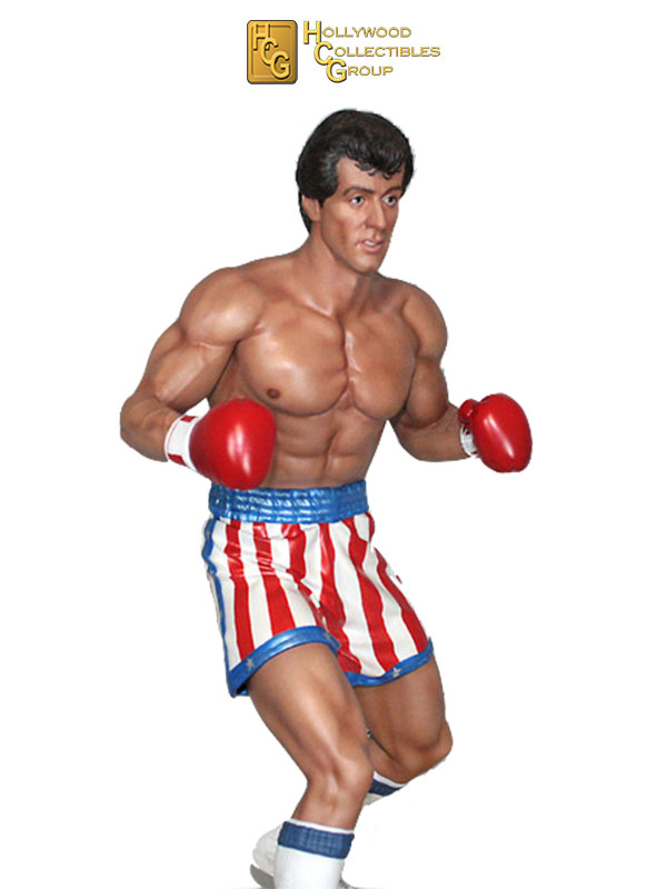 Hollywood Collectibles Rocky Rocky Balboa 1:4 Statue