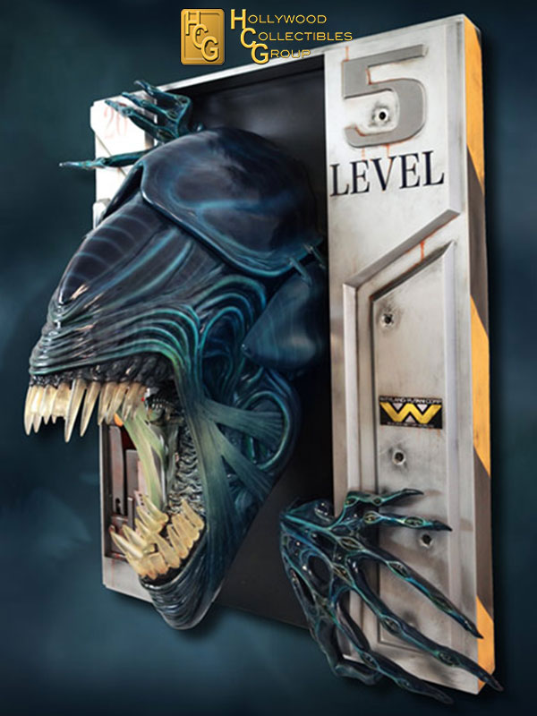 Hollywood Collectibles Aliens Alien Queen Lifesize Wall Sculpture