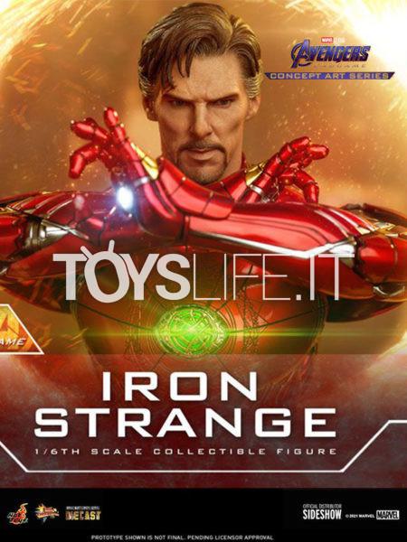 Hot Toys Avengers Endgame Concept Art Series Iron Strange 1:6 Diecast Figure