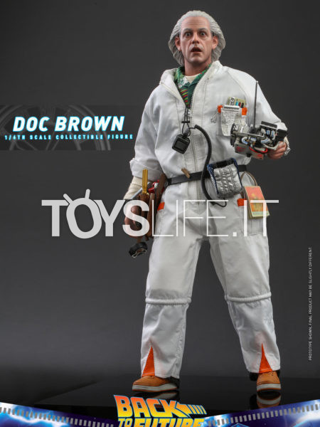Hot Toys Back To The Future Doc Brown 1:6 Deluxe Figure