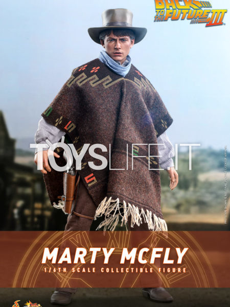 Hot Toys Back To The Future Part 3 Marty McFly 1:6 Figure