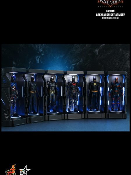 Hot Toys DC Batman Arkham Knight Miniature Armory Set
