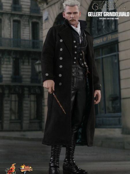 Hot Toys Fantastic Beast The Crimes Of Grindenwald Gellert Grindenwald 1:6 Figure