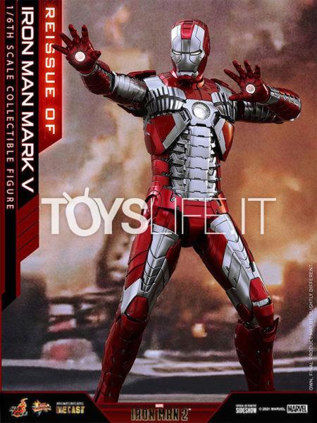 Hot Toys Marvel Ironman 2 Ironman Mark V 1:6 Diecast Figure