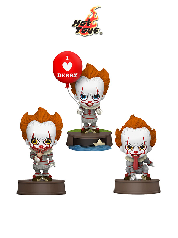 Hot Toys IT Chapter 2 Pennywise Cosbaby Figures