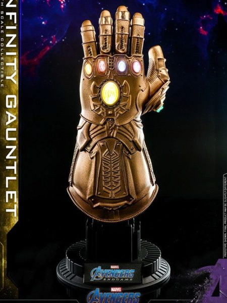Hot Toys Avengers Endgame Infinity Gauntlet 1:4 Replica