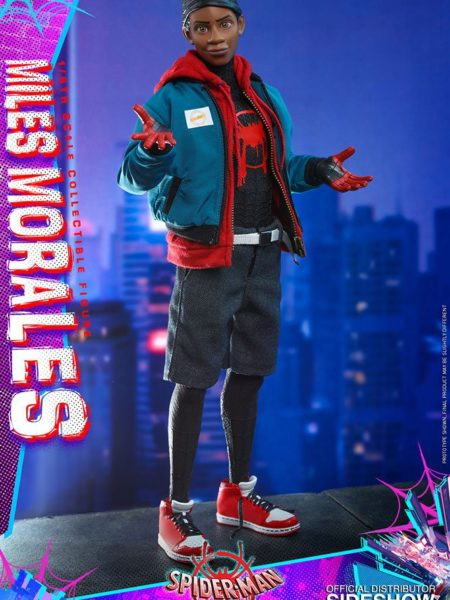 Hot Toys Marvel Spiderman Into the Spiderverse Miles Morales 1:6 Figure
