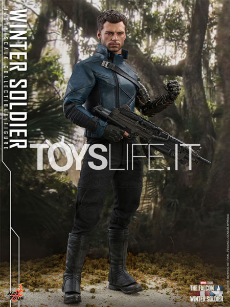 Hot Toys Marvel The Falcon and The Winter Soldier Winter Soldier 1:6 Figure