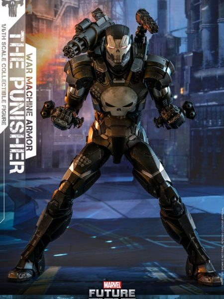 Hot Toys Marvel The Punisher War Machine Armor 1:6 Figure