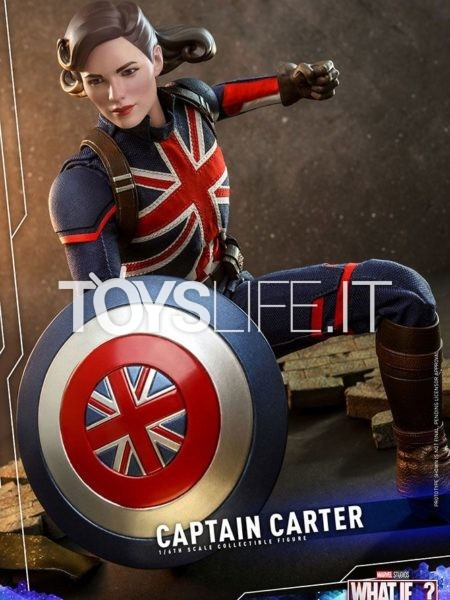 Hot Toys Marvel What If Captain Carter 1:6 Figure