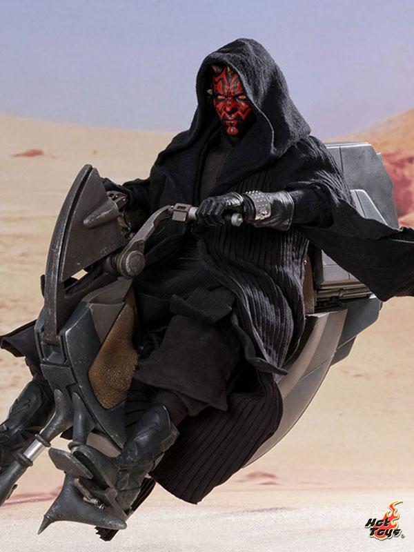 Hot Toys Star Wars The Phantom Menace Darth Maul With Sith Speeder 1:6 Figure