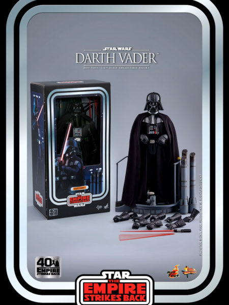 Hot Toys Star Wars The Empire Strikes Back 40th Anniversary Darth Vader 1:6 Figure