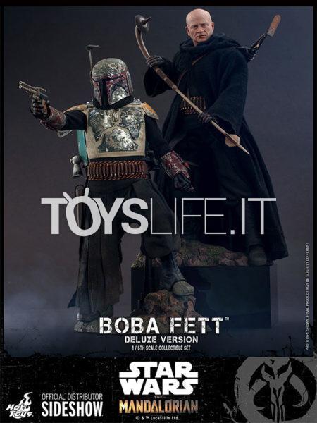 Hot toys Star Wars The Mandalorian Boba Fett 2-Pack Deluxe 1:6 Figure